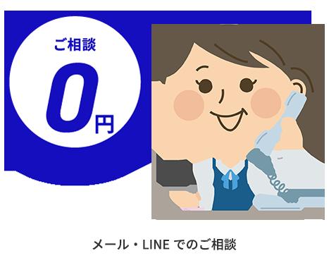 メール・LINEでのご相談