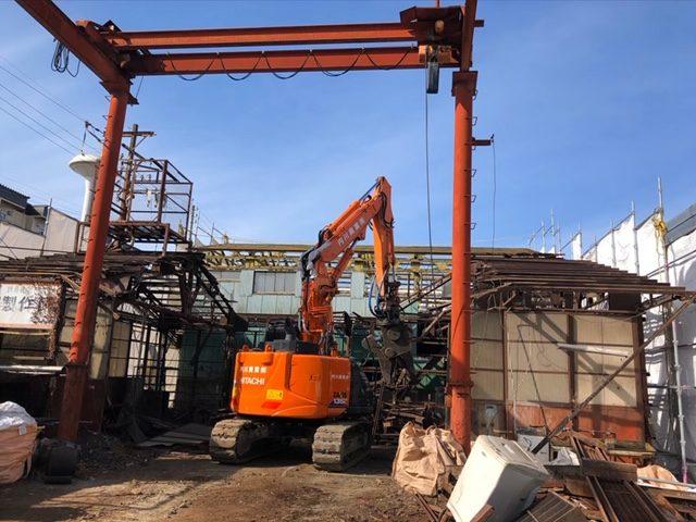 松本市 株式会社S様 工場解体工事