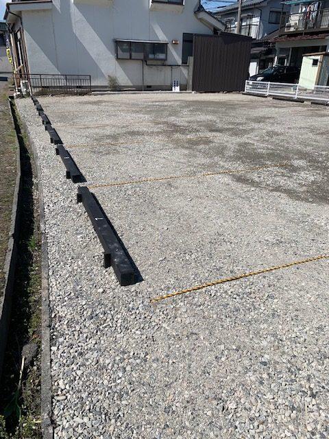 T様 駐車場フェンス新設工事
