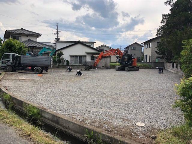 松本市 株式会社M様 貸家解体