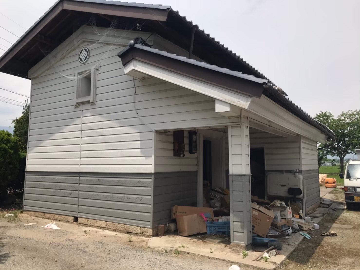 安曇野市 土蔵・倉庫解体工事