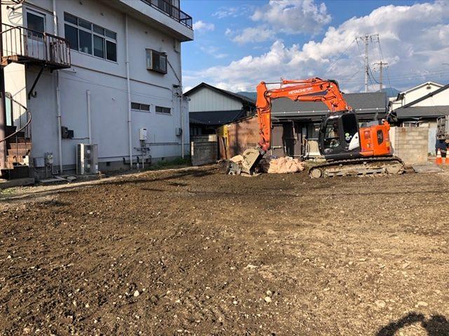 松本市 S様邸解体工事